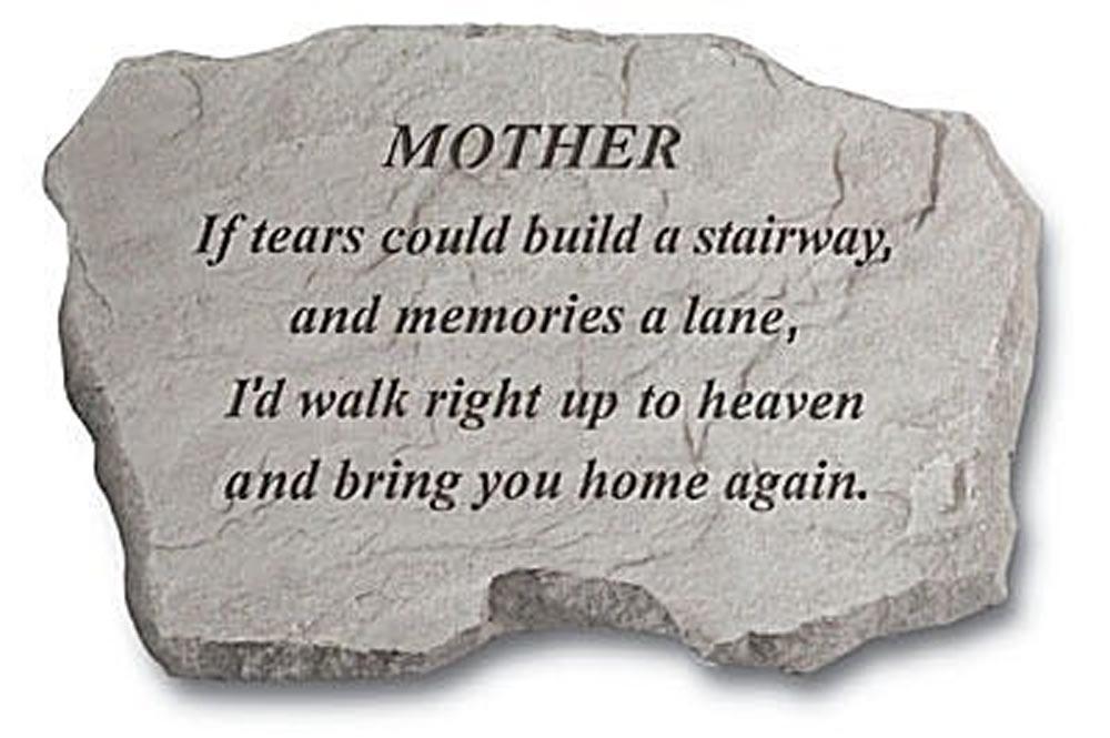 Memorial Stones Mother Garden Memorial Stone Special