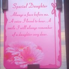 DAUGHTER  pink