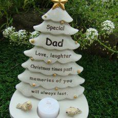 dad xmas tree